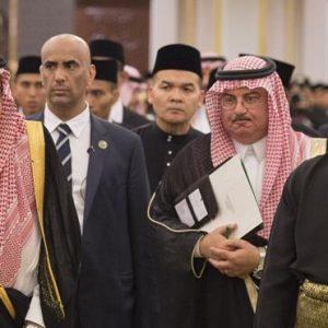 الملك سلمان و ملك ماليزيا